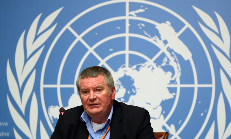 Mike Ryan, Executive Director of the World Health Organisation attends a news conference at the United Nations in Geneva, Switzerland, May 3, 2019. — Reuters