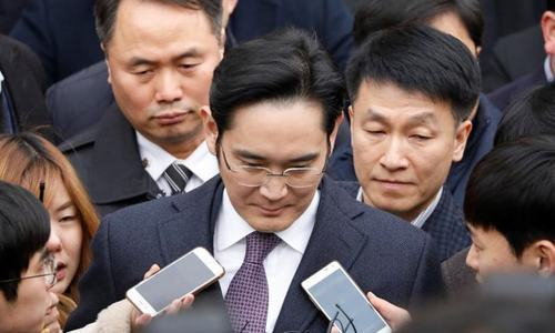 Lee is already facing court trial over a charge of bribery. — Reuters/File