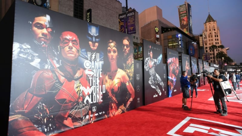 "AFP/File / Robyn Beck - Comic book fans around the world collectively swooned with the announcement of a much-hyped new edit of 2017 ensemble movie ""Justice League"" for HBO Max"