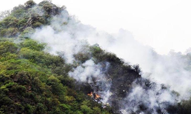 28 جولائی 2010 کو ایئر بلیو فلائٹ ABQ-202 کراچی سے اسلام آباد جاتے ہوئے خراب موسم میں حادثے کا شکار ہوئی تھی—اے ایف پی