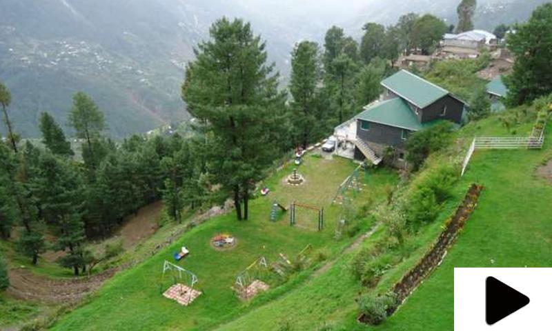 ایبٹ آباد کا سیاحتی مقام نتھیا گلی ویران
