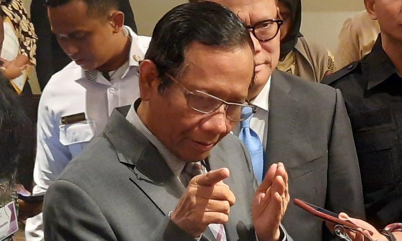 انڈونیشیا کے قانونی، سیاسی اور سلامتی امور کے وزیر محمد محفوظ — فوٹو: بشکریہ جکارتہ پوسٹ