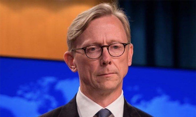 """VOA Persian needs to do a better job of countering Iranian disinformation and propaganda,"" says Brian Hook. —US Department of State website/File"