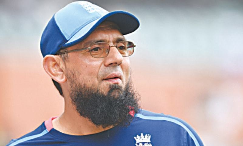 Saqlain Mushtaq was appointed as the head of International Player Development. — Dawn/File
