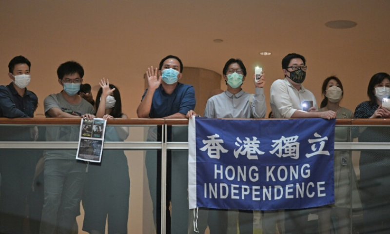 Pro-democracy campaigners in Hong Kong say China's planned security law will destroy the city's cherished autonomy. — AFP