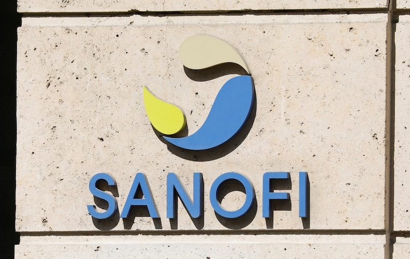 The logo of Sanofi is seen at the company's headquarters in Paris, France on April 24, 2020. — Reuters