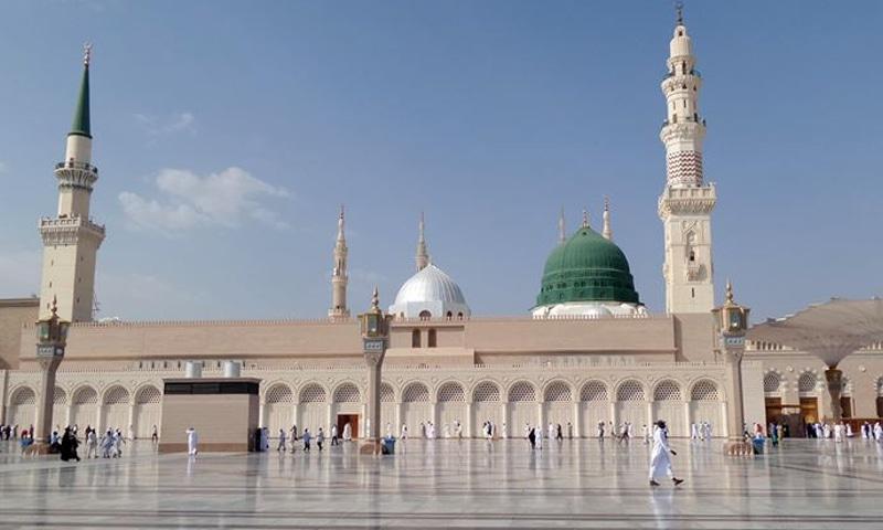 مسجد نبوی کو نمازیوں کے لیے 20 مارچ کو بند کیا گیا تھا—فوٹو: اناطولو ایجنسی