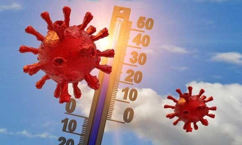 نئے نوول کورونا وائرس اور ہوا میں نمی کے درمیان تعلق دریافت