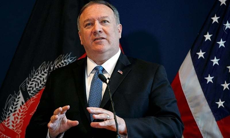 """These are the kinds of actions that authoritarian regimes take,"" said US Secretary of State Mike Pompeo. ⁠— Reuters/File"