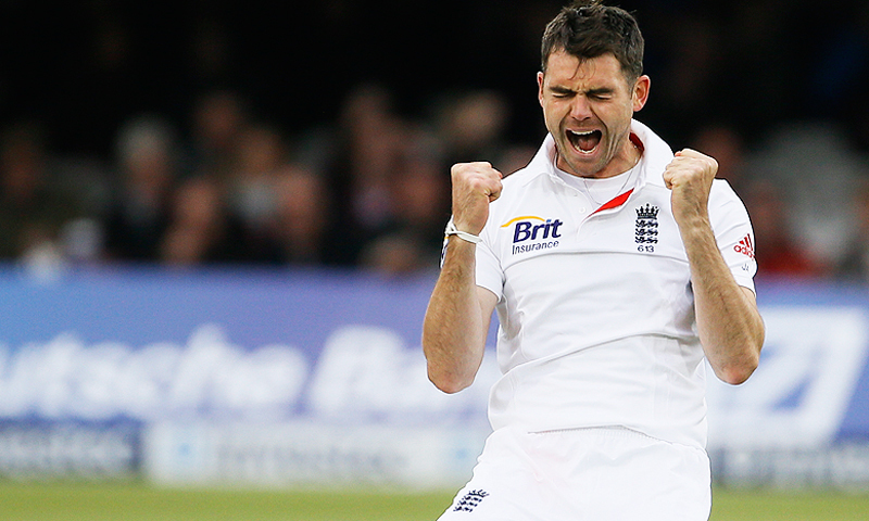 England bowler James Anderson is part of a 55-strong group asked to return to training by the ECB. — AFP/File