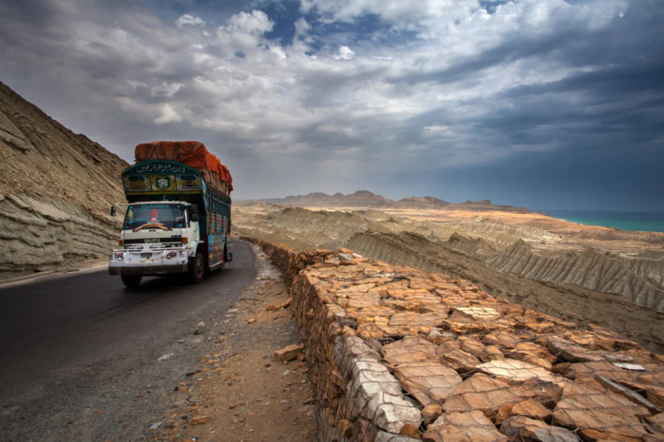 Initiatives like electric trucks should be a priority for the China–Pakistan Economic Corridor. — Photo by Awais Yaqub/Alamy