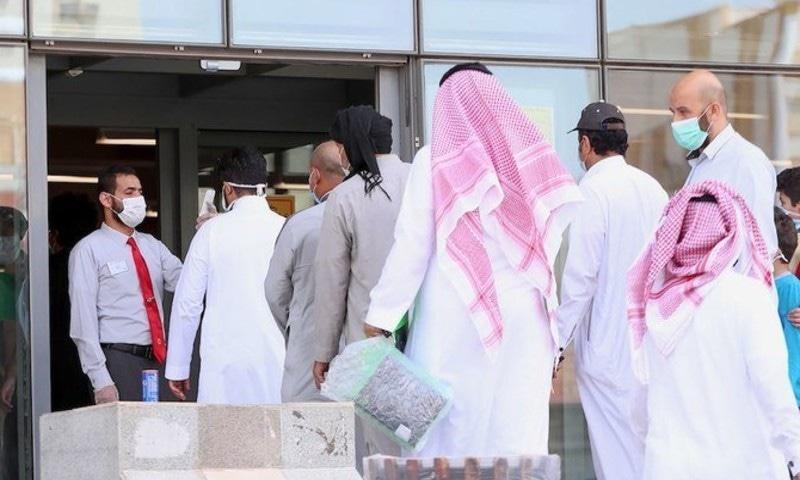 سعودی عرب میں کیسز کی تعداد 89 ہزار سے تجاوز کر گئی—فوٹو: اے ایف پی
