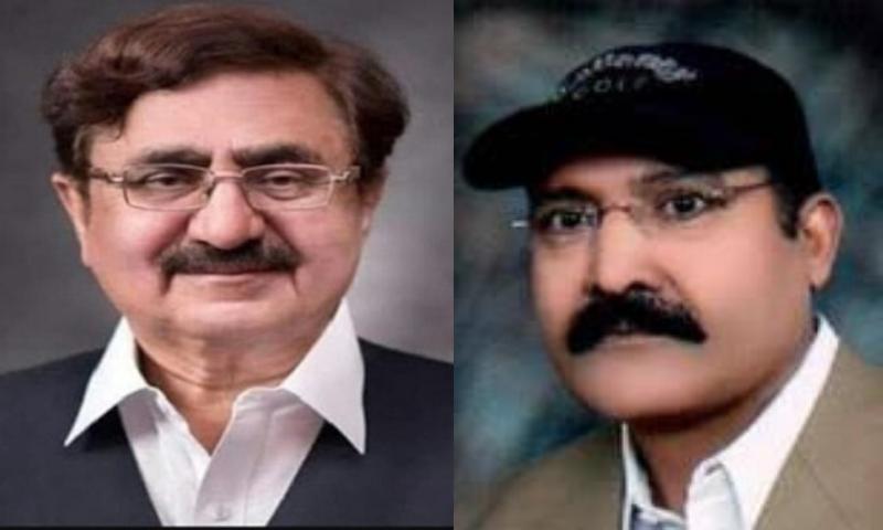MPA from KP Mian Jamshedud Din Kakakhel (left) and MPA from Punjab Shaukat Manzoor Cheema passed away from the coronavirus on Wednesday. — Photo courtesy: Radio Pakistan/Twitter