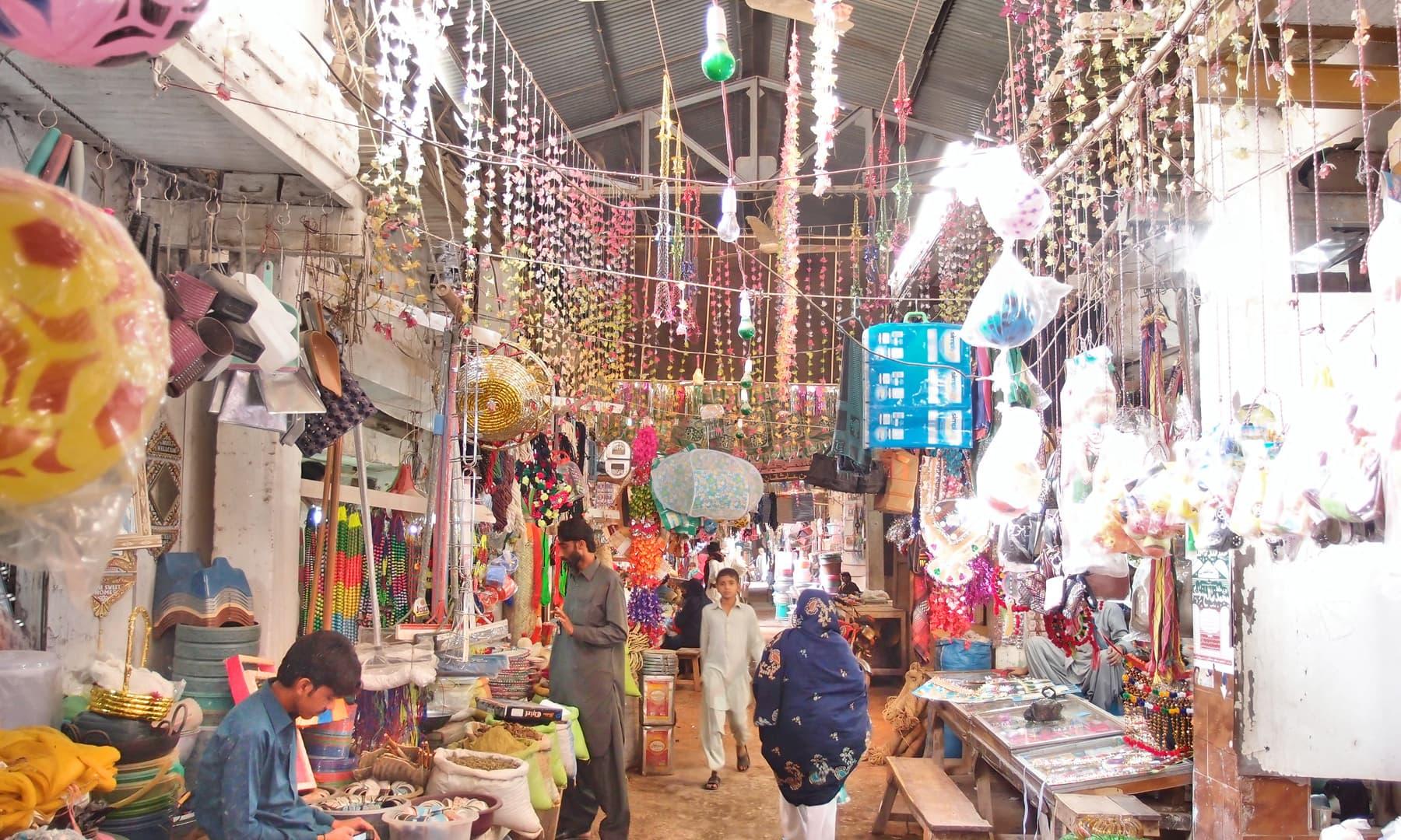 سیہون کا بازار
