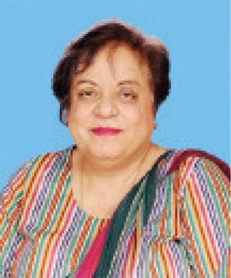 Minister for Human Rights Dr Shireen Mazari