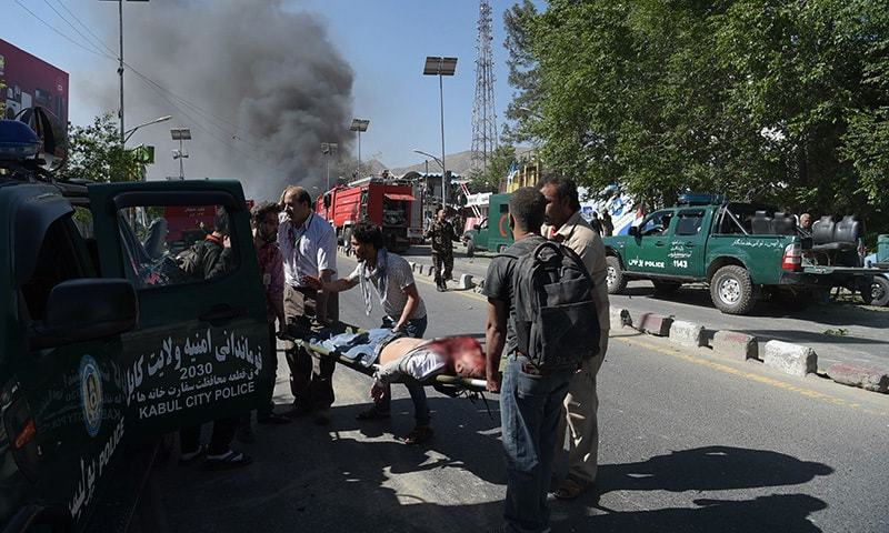 No one claimed the Kandahar attack, but provincial police spokesman Jamal Nasir Barekzai blamed the Taliban. — AFP/File