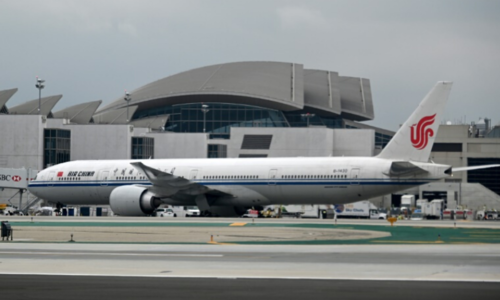 Air China and other Chinese carriers won't be flying to the US anymore. — AFP/File
