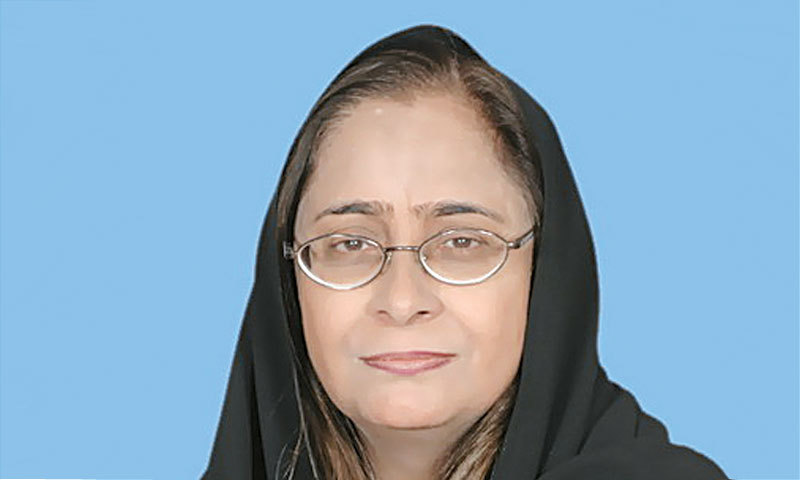 Dr Azra Pechuho warns hospitals will face shortage of beds and ventilators. — Dawn/File