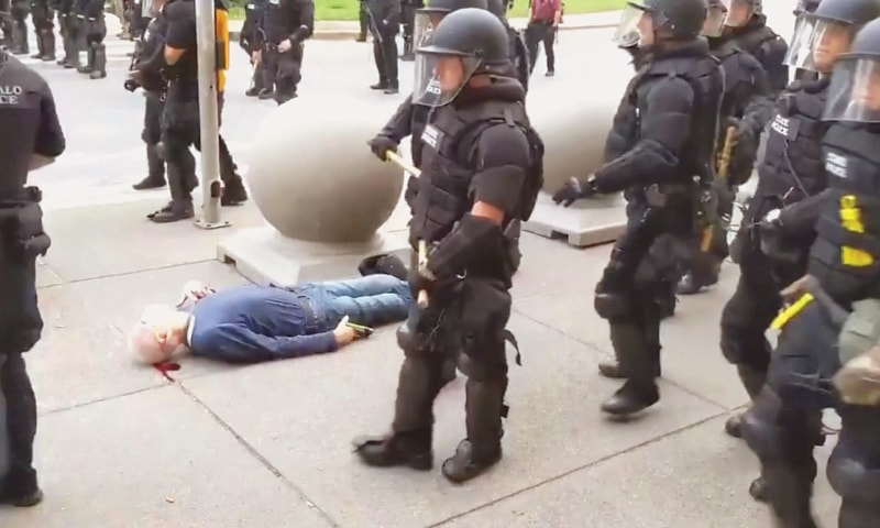 Anger at new police abuse videos as United States protesters eye weekend