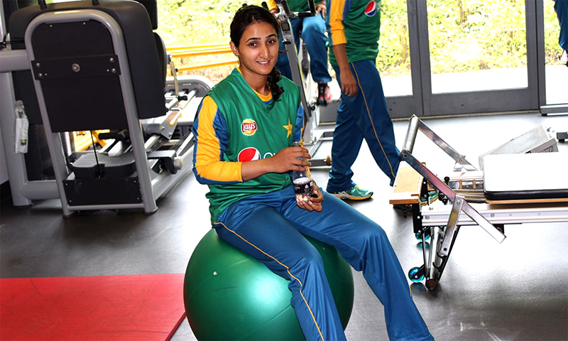 Left-arm spinner Anam Amin and middle-order batter Omaima Sohail are the new entries in the central contracts. — Dawn/File