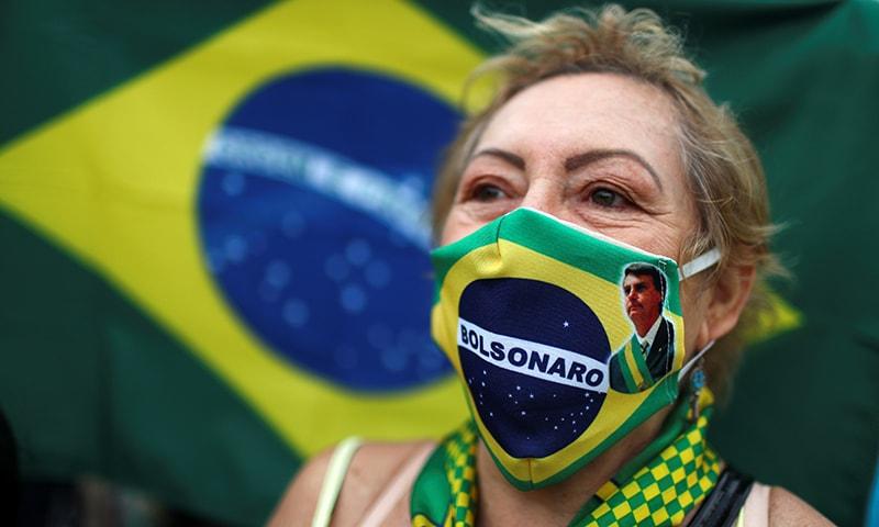 برازیل نے کورونا کیسز چھپانے کیلئے ویب سائٹ سے ڈیٹا ہٹا دیا
