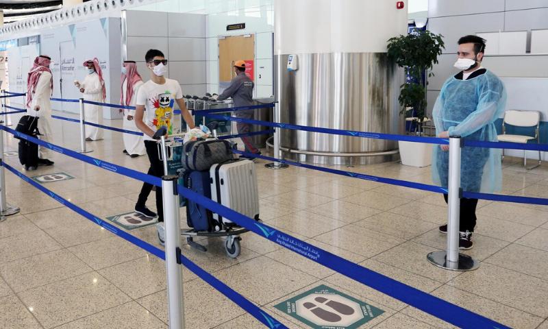 سعودی عرب میں کورونا کے مریضوں کی تعداد ایک لاکھ سے تجاوز کرگئی