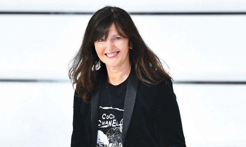PARIS: French fashion designer Virginie Viard for Chanel.—AFP