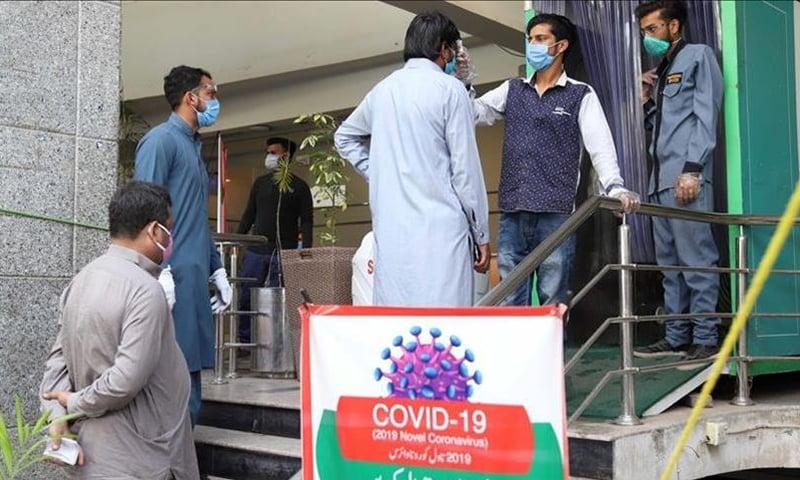 ملک میں کورونا وائرس کی صورتحال خطرناک حد تک پہنچی ہوئی دکھائی دے رہی ہے—فائل فوٹو: انادولو ایجنسی