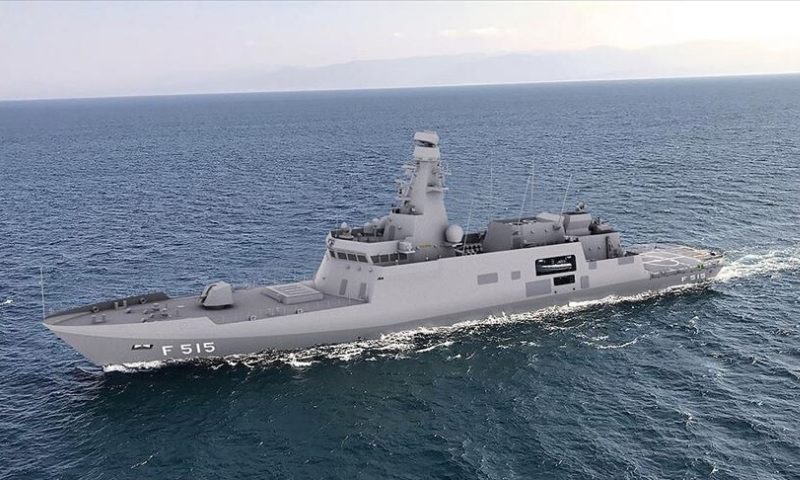 Turkey is one of the 10 countries in the world which can build, design, and maintain warships using its national capabilities. — Anadolu Agency