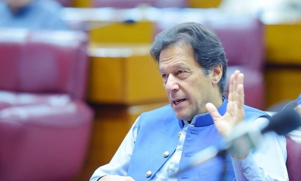 The prime minister said that the government has successfully transferred Rs120 billion in nine weeks to more than 10 million families. — Photo courtesy of Imran Khan's Facebook page