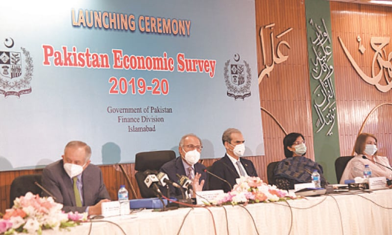 Hafeez blames Covid-19 for Rs3 trillion GDP loss