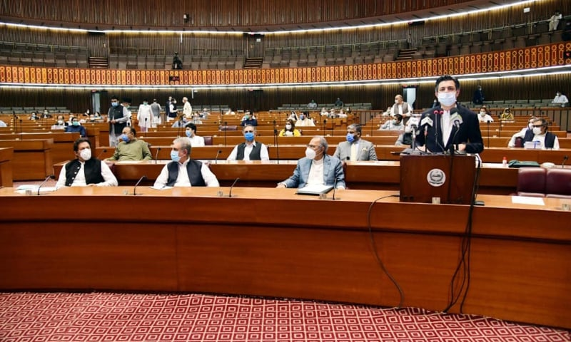 71 کھرب 36 ارب روپے کا بجٹ پیش، کوئی نیا ٹیکس نہ عائد کرنے کا اعلان