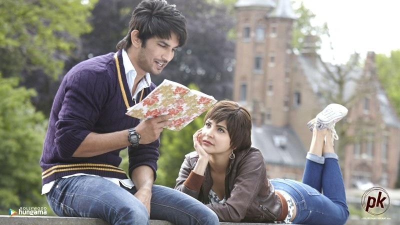 2014 کی فلم پی کے میں سشانت سنگھ راجپوت نے پاکستانی لڑکے کا کردار ادا کیا تھا—اسکرین شاٹ