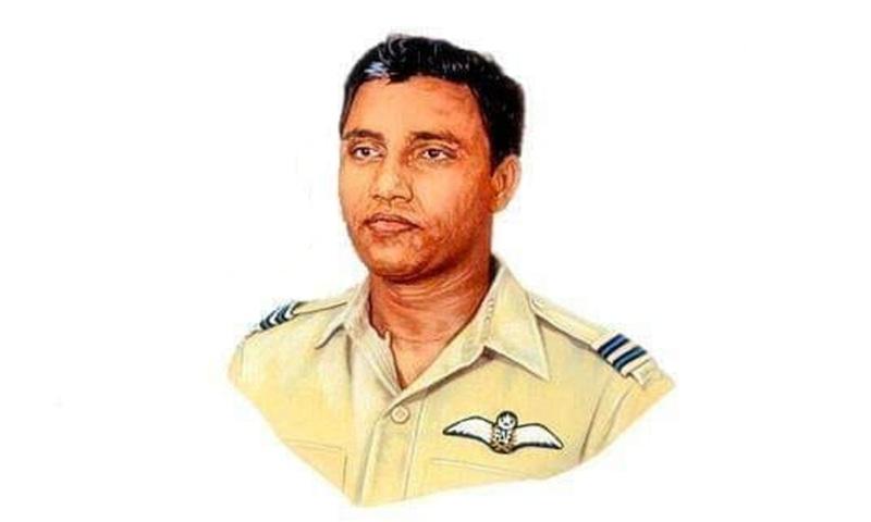 Retired group captain Saiful Azam was awarded Sitara-i-Jura'at for his heroics in the 1965 war. — Photo courtesy Dhaka Tribune
