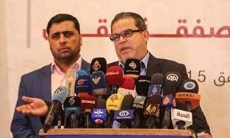 حماس کا 'مقبوضہ علاقوں کے انضمام کے اسرائیلی منصوبے' کےخلاف اتحاد پر زور