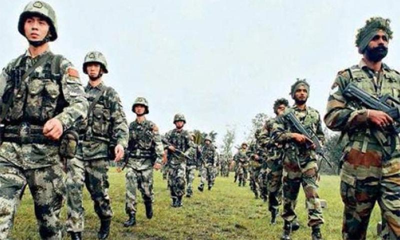 سرحدی علاقے میں چین سے جھڑپ، افسر سمیت 20 بھارتی فوجی ہلاک
