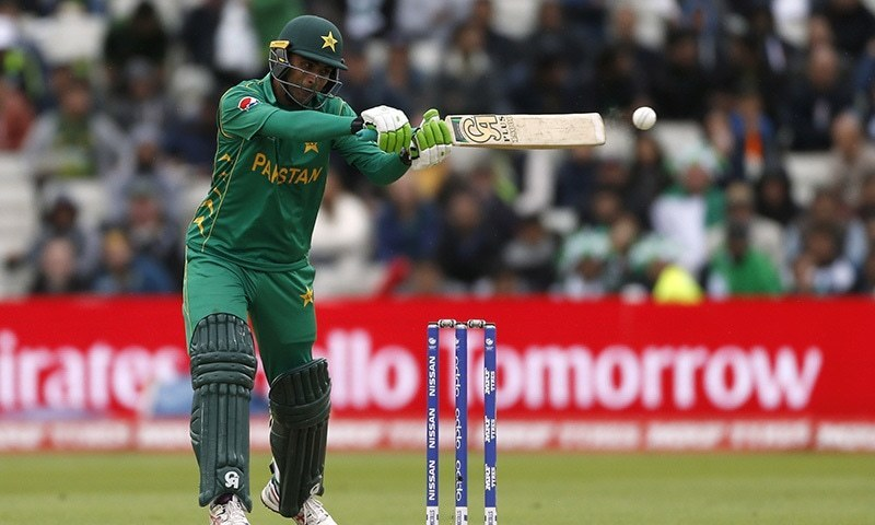 Fakhar Zaman, 30-year-old left-handed batsman from Mardan, had a golden year in 2018 during which he became the first Pakistani to score an ODI double century. — Reuters/File