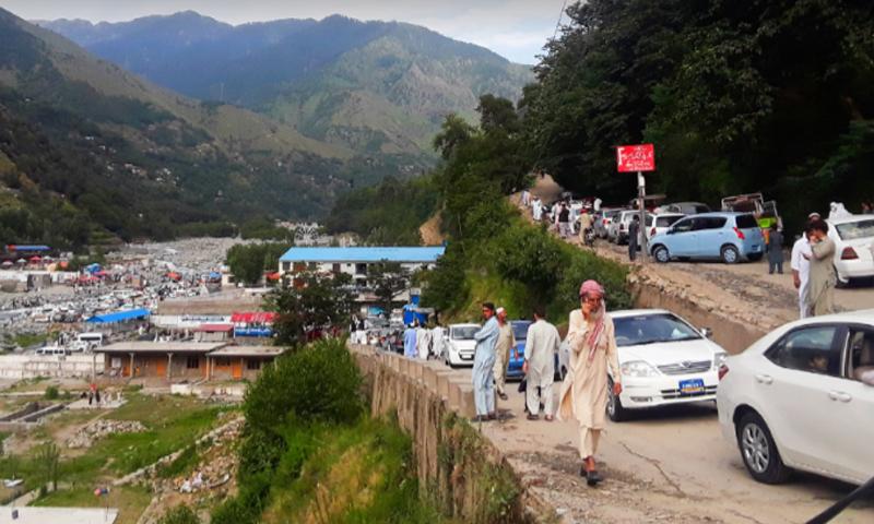 لاکھوں سیاح عیدالفطر کے موقع پر سیاحتی مقامات کے انٹری پوائنٹس تک پہنچے—عظمت اکبر
