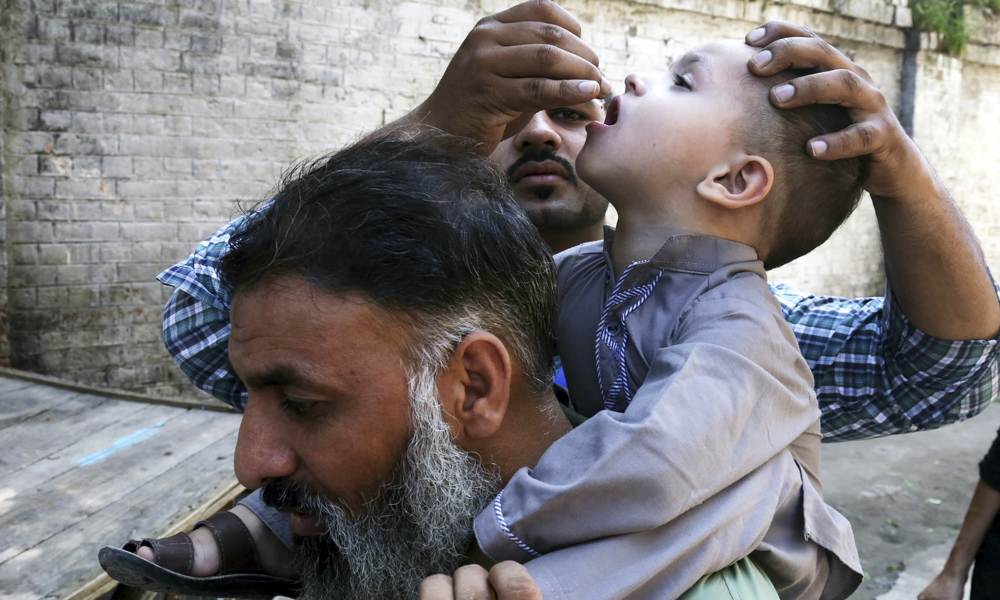 The last polio case in Upper Dir had been reported in 2012. — AP/File