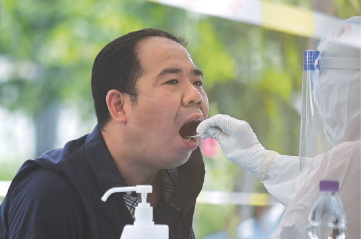 China races to prevent virus second wave
