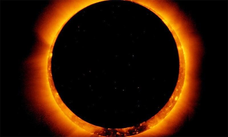 ملک میں یہ سورج گرہن 2 سے 3 گھنٹے تک دیکھا جاسکے گا—فائل فوٹو: ناسا