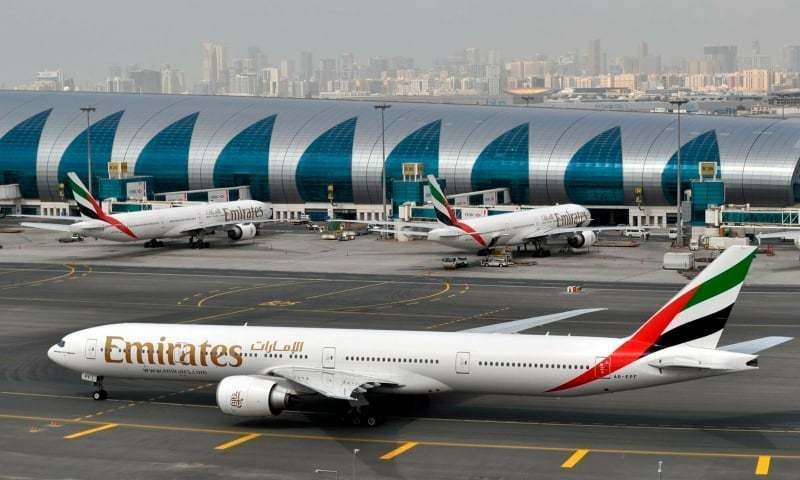 Emirates suspends passenger services from Pakistan for a few days