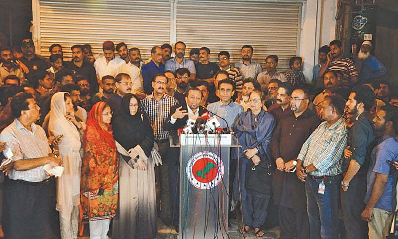 MQM-P asks centre, army chief, CJP to help get 'reasonable' funds for Karachi's uplift