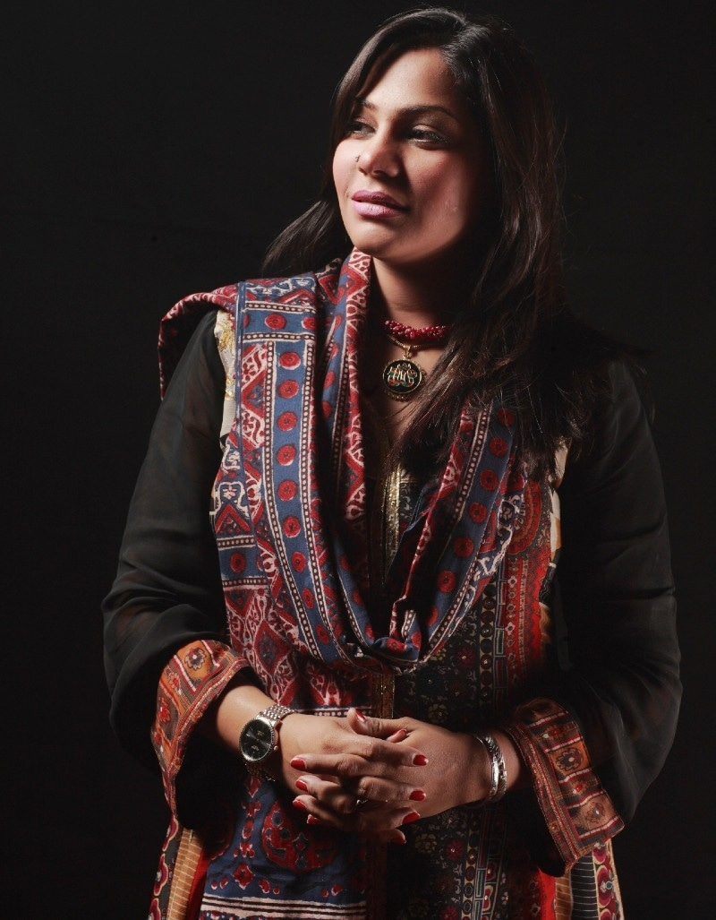 صنم ماروی نے 23 جون کو سندھی نیوز چینل سے گفتگو کے دوران گلوکاری چھوڑنے کا اعلان کیا تھا—فائل فوٹو: انسٹاگرام