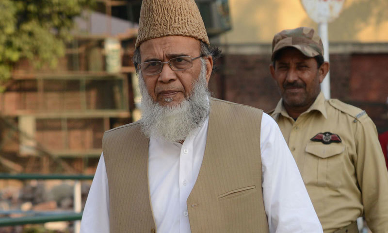 Former Jamaat-i-Islami (JI) emir Syed Munawar Hasan passed away at a hospital in Karachi, a party spokesperson said. — AFP/File