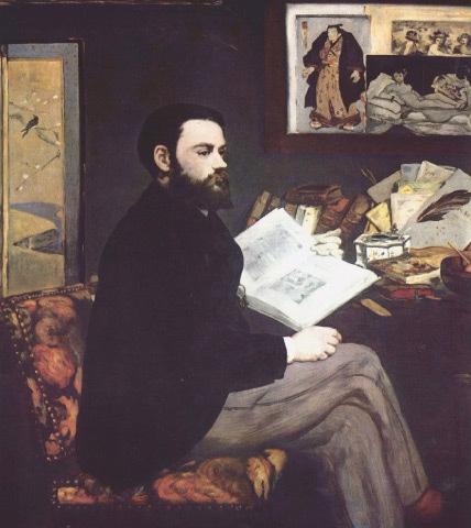 Portrait of Emile Zola, Edouard Manet