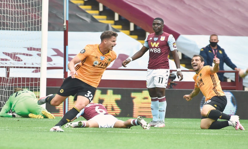 Dendoncker pushes Wolves up in Premier League