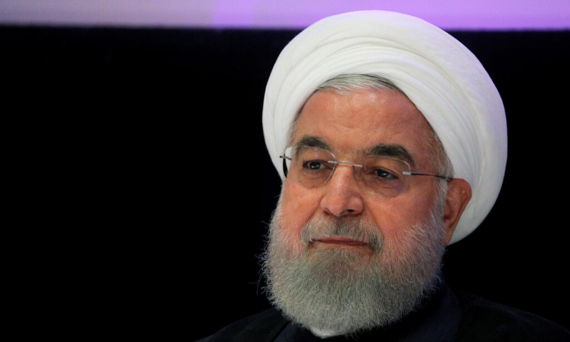 """""""The economic pressure that began in 2018 has increased ... and today it is the toughest pressure on our dear country,"""" Rouhani said in a televised speech. — Reuters/File"""