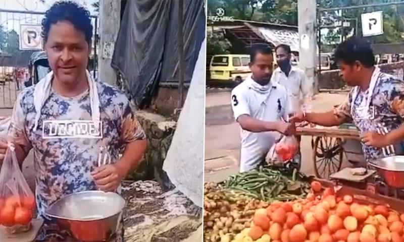 مشہور بھارتی اداکار سڑک پر سبزیاں بیچنے پر مجبور
