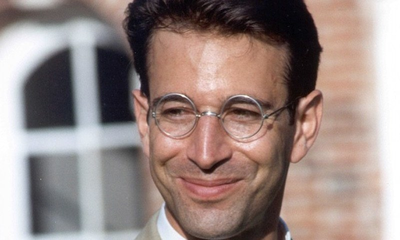 Daniel Pearl, 38, was doing research on religious extremism in Karachi when he was abducted in January 2002. — Dawn archives